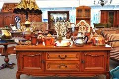 stock image of  antique market