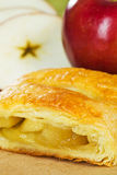 stock image of  apple turnover strudel