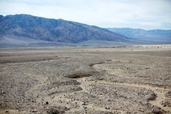 stock image of  arid landscape of death valley national park, usa