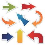 stock image of  arrow set