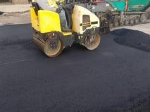 stock image of  asphalt driveway, parking lot repair