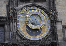 stock image of  astronomy clock from prague in czech republic