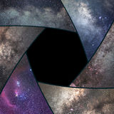 stock image of  astrophotography collage. shutter collage universe. space astronomy