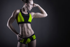 stock image of  athletic woman