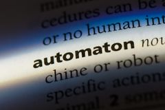 stock image of  automaton