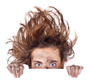 stock image of  bad hair day banner