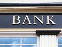 stock image of  bank
