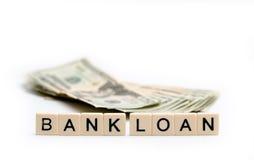 stock image of  bank loan