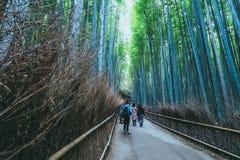 stock image of  beautiful bamboo forest at arashiyama, kyoto , japan