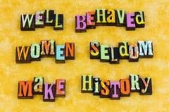 stock image of  behave women behavior leadership feminism