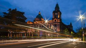stock image of  belfast city hall