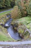 stock image of  below the otter brook dam