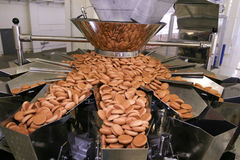 stock image of  biscuit factory