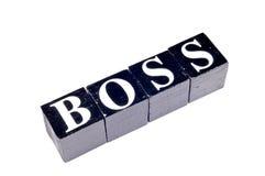 stock image of  black boss