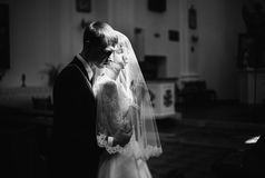 stock image of  artistic black and white photography. wedding photography