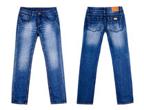 stock image of  blue jeans