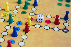 stock image of  board game