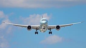 stock image of  boeing 787-9 dreamliner