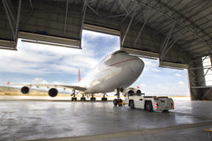 stock image of  boeing 747