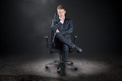 stock image of  boss