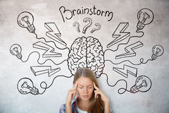 stock image of  brainstorm and innovation concept