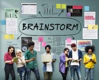 stock image of  brainstorm inspiration ideas analysis concept