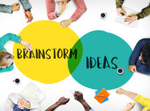 stock image of  brainstorm planning ideas leadership motivation concept