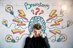 stock image of  brainstorm and startup concept
