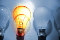 stock image of  bright bulb