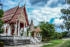 stock image of  buddhist temple