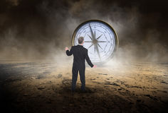 stock image of  business compass, sales, goals, marketing