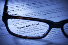 stock image of  business dispute resolution