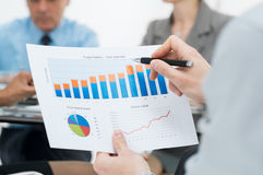 stock image of  business growth