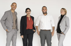 stock image of  business people suit studio concept