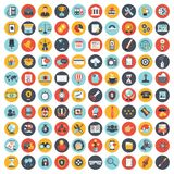 stock image of  business, technology and finances icon set for websites and mobile applications and services. flat vector