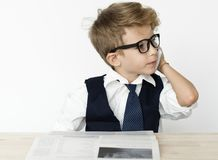 stock image of  businessman boy young occupation dream job