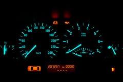 stock image of  car instrumental panel