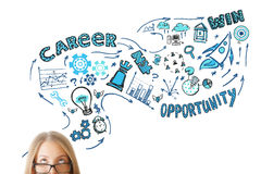 stock image of  career concept