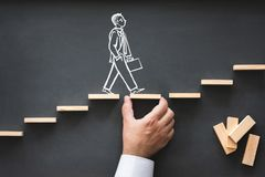 stock image of  career planning and business challenge concept