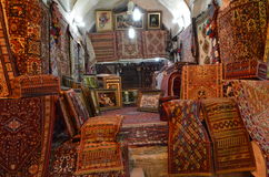 stock image of  carpet shop