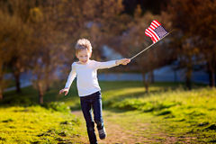 stock image of  celebrating 4th of july