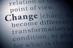 stock image of  change