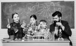 stock image of  chemistry themed club. group interaction and communication. interests and topic club. share interests hobbies talents