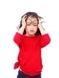 stock image of  child stress