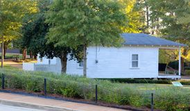 stock image of  childhood home of elvis presley