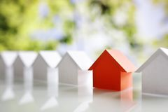 stock image of  searching for real estate property, house or new home