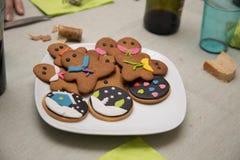 stock image of  christmas desserts