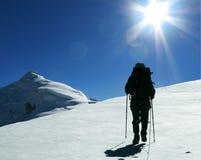stock image of  the climb