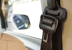 stock image of  car seat belt