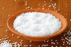 stock image of  coarse grained salt